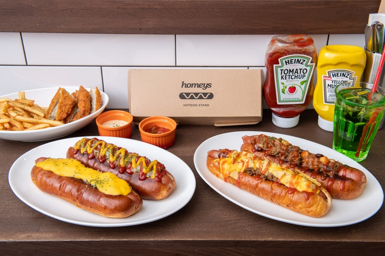 hotdog stand homeys