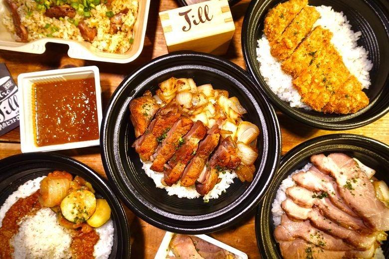 肉弁当とカレー 弁当のJILL presentby大衆ビストロ ジル 目黒店