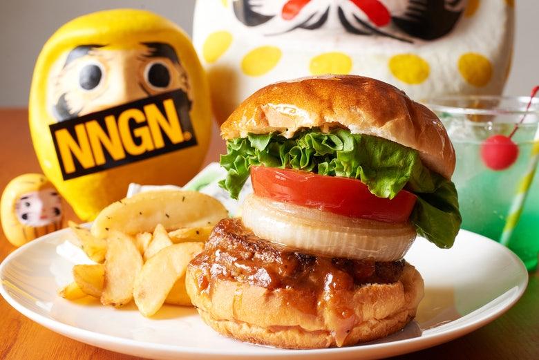 """Burger shop """"NNGN"""""""