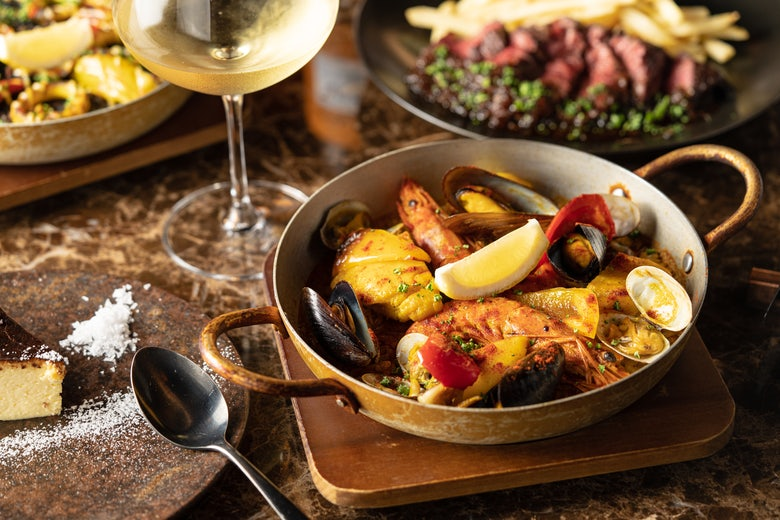 Steak Paella BISTRO CRESTA
