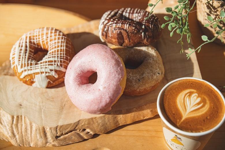 珈琲とドーナツ ふわもち邸