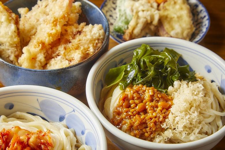 さぬきうどん 麺喜やしま 渋谷円山町