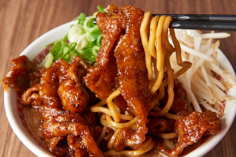肉汁麺ススム 下北沢店